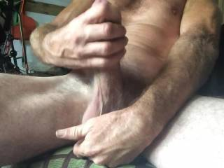 i love your big hairy cock...mmmm wish it was deep inside me.  would love to cam with you and watch you cum