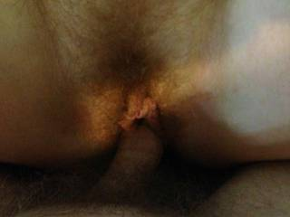 I'd like to stuff my cock inside that pretty pussy and see just how good it feels