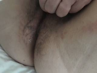 Wife playing