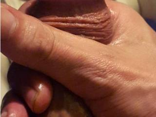 Baby oil slow long strokes,comments always welcome