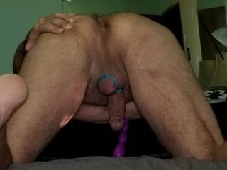 I\'m sooooooo tired of Solo~Sex..anyone wanna use one of my many prostate toys or they\'re finger/s on me so I don\'t have to do it myself??