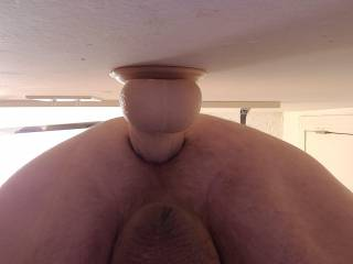 Needing a long thick cock this deep in my ass