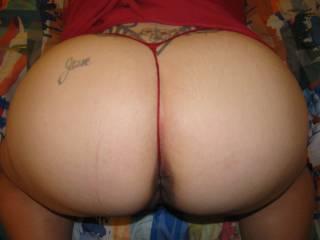 fantastic ass. needs my cock up it!