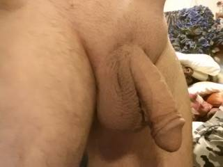 "I'd love to get a hold of ""Just hanging"" and make your wish cum true with a nice blowjob. Do you think that will make Mr. hanging....hard?  Mrs. K"