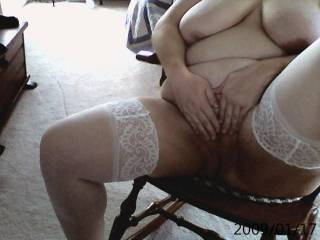 Another shot for the web cam, think you might have a lick for me, sure would you enjoy your tongue.