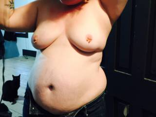 love to suck on her  beautiful tits. She looks so sexy mmm