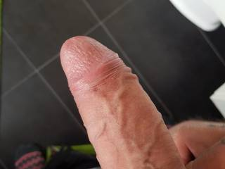 Stroking my cock and looking at all your sexy pics.. ;)