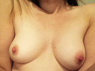 Boobs want cum all over them