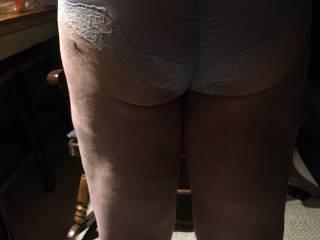 ass shot in new panties