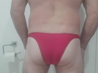 Trying on my new undies they feel good
