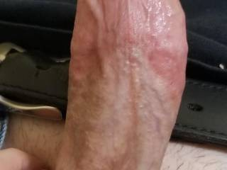 Good angle.  Make his cock look good.  So ready for him in me.