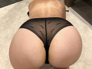 New underwear presented by her nice ass :)