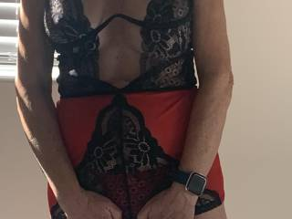 Sexy new outfit front view