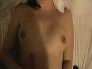 you can wank your hubby all over my wife's tits, and I will lick her clean afterwards