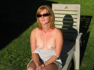 She has beautiful breasts and suckable nipples.