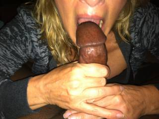 Nothing better than a mouth full of BBC.