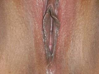 I want to lick it, finger you G-Spot while you play with you clit and when you have a volcanic eruption of and orgasm sove my cock in as you peak and fuck you hard to give you multilples to enjoy,  That is a hot wet sweet pussy ane they are the very best.  Bet it tastes wonderful.