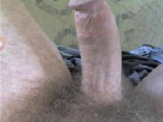 I would love to slide my tight wet pussy over your hard cock, it's just my size too, I could work that so well.....