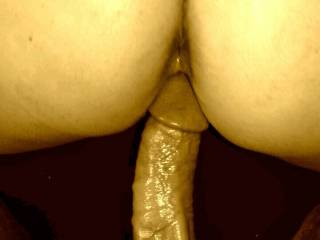 I love being fucked by my husband in my ass and my pussy at the same time while I play with my clit using my vibrator