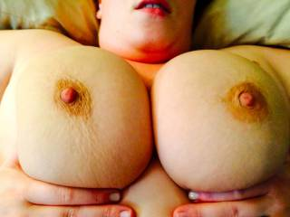 I do want to!  And after I cover those perfect breasts in warm cum I'd love to lick you clean!