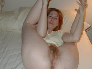 love a hairy pussy and ass