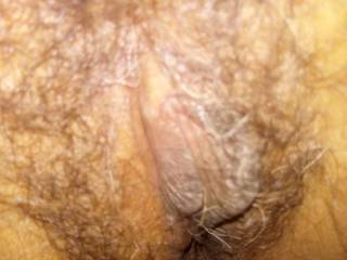 This is a close view of my BLVN GF\'s hairy pussy.(We made some arrangements after our first sex session.. Would you like the changes?)