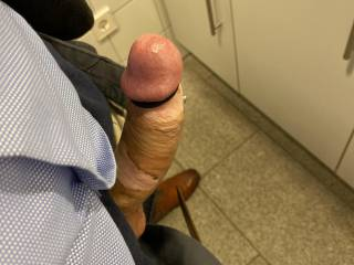 Quick shot at work. I was so horny the whole day!