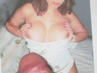 My big titted slut S wants to get titfucked HARD!!!