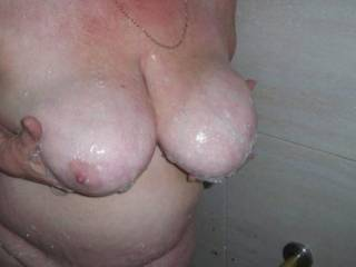 wow  awesome boobs would love to tit fuck you and cum anywhere you wanted