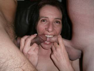 She just loves sucking cock,yet again I\'m left holding the camera