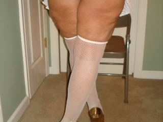 Heels are nice, but a big ass is fantastic and very challenging mmmmm