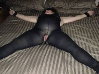 I'd love to give her a good fucking for you and share her with you for about 3 days!