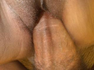 DRIVING MY HUGE COCK DEEP INSIDE HER PHAT BLACK PUSSY