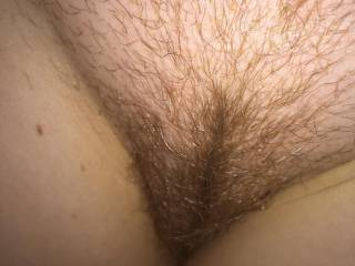 Would love to tease it open and make passionate love to it.. any way will be nice..Just imagine running your finger through your pussy hair with it soaked with my cum..