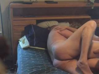 Fucking my wifes cunt