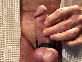Love to massage the underside of my penis.