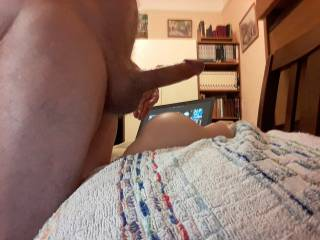 Just cum after fucking my toy