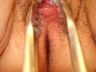 love the chance to spread this lovely tasty puss open have just the weapon mmm