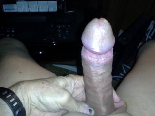 Got my COCK ready for play..Anyone want to help me out..I could use a Wet Hot Mouth about now.
