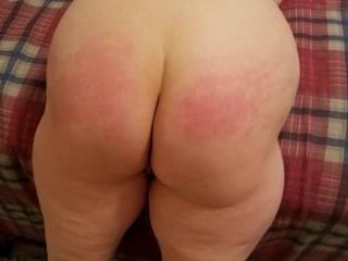 She really loves a spanking