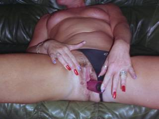 Toying with my vibrator