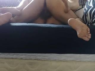 Fucking my wife. She loves me rubbing my cockhead on her clit, then putting my dick in her pussy as she cums hard.