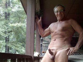 I want to suck your cock on the porch