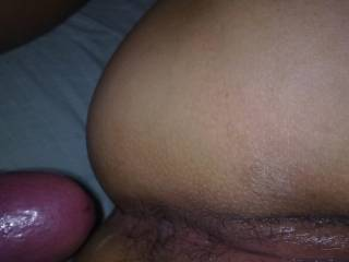 I want to eat her pussy well you fuck her ass then suck your cock clean