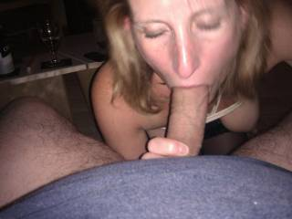 love the VIEW - got my VOTE, we love how you tackle his FAT HARD COCK !!!