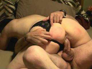 I want those balls bouncing off my chin while you ride my mouth and my man rides my hot pussy!