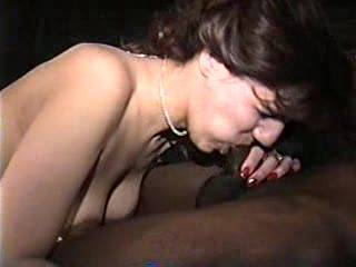 my wife making a blackcock hard then has him fuck her again then he cums in her for the second time