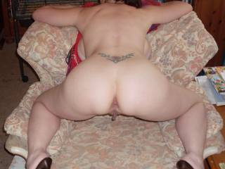 Wonderful position for me to start licking that sexy anus then to your lips before riding them ! I know that I've already commented however I needed to add my lusting thoughts !