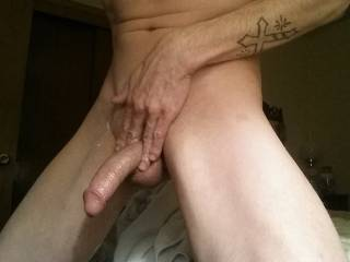 I like playing with my dick.