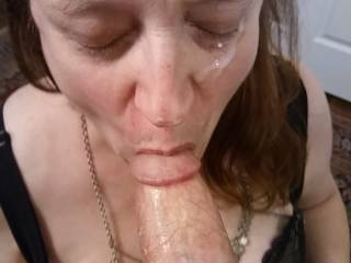 I want more of my man's great cum. I love cum, especially when it involves a facial. Watch my videos to see the joy I get.